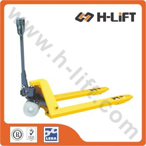 Hydraulic Pallet Truck / Forklift with Nylon Wheel (PT- BF) pictures & photos
