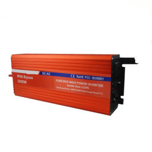 2000W Pure Sine Wave Inverter with Switch pictures & photos