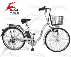 24V Lithium Battery City E-Bike Japan Asian Market (JSL808) pictures & photos