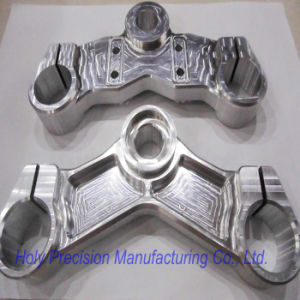 High Precision Aluminum Machining for Triple Clamp pictures & photos