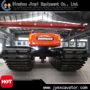 Floating Excavator with Undercarriage Pontoon Jyae-183