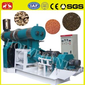 Hot Seller Floating Fish Feed Pellet Making Machine pictures & photos