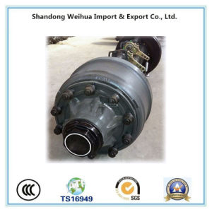 Reliable Operation Lowbed Round Beam Axle From China Factory pictures & photos