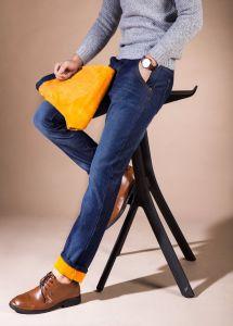 D842 Hot Sale Fashion Men Winter Trousers Denim Jeans pictures & photos