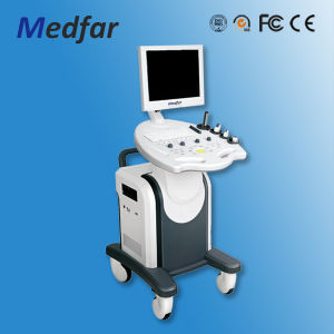 Medfar Trolley Vet Color Doppler Ultrasound MFC8000V pictures & photos