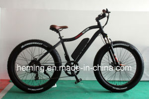 250W Powerful Brushless Motor Fat Tire E-Bike pictures & photos