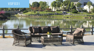 Nice Garden Rattan Sofa Wicker Outdoor Furniture pictures & photos