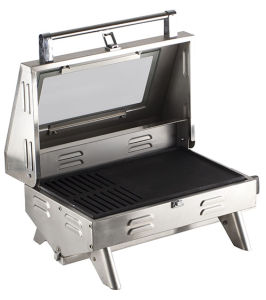Portable Tabletop BBQ Gas Grill pictures & photos