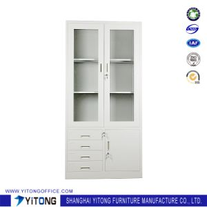 Yitong 3-Door 4-Drawer Metal Storage Cabinet / Office Use Steel File Cabinet pictures & photos