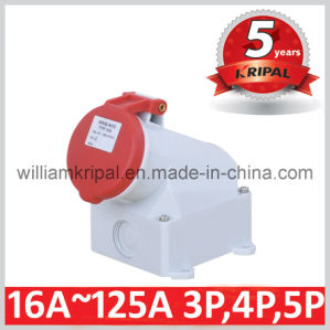 IP44 16A 3p+E Industrial Socket pictures & photos
