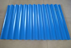 Pre-Painted Galvalume Steel Corrugated Steel Sheet/Plate pictures & photos