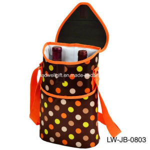 Wine Bottles Cans Carrying Bag, Heart - Rose Red pictures & photos