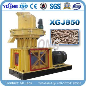 Vertical Ring Die Pellet Making Machine pictures & photos
