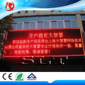 Customized P10 Red/Blue/Yellow/Green/Blue Outdoor LED Sign Board LED Display pictures & photos