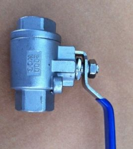 2PC Ball Valve for Water in Industry Fileds (J11F-16P) pictures & photos