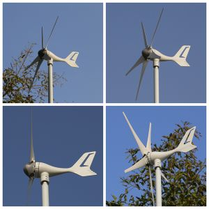 400W Hybrid System 12V 24V Wind Turbine Generator pictures & photos