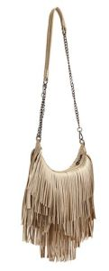 Hot Ladies Tassel Bag PU Fringe Shoulder Bag (LDO-01669) pictures & photos
