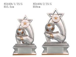 Resin Soccer Sport Trophy (85440A/1/IS/G)