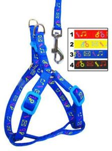 Fashion Nylon Dog Harness and Collars for Pet Products (JCLH-1578)