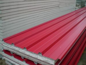 Building Material EPS Sandwich Panel in China pictures & photos
