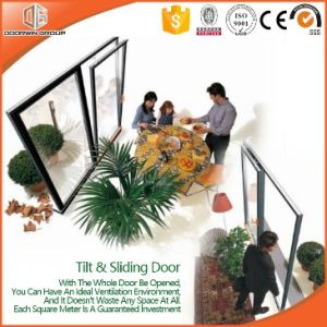 Chinese Top Quality Aluminum&Wood Sliding Doors with Colonial Bars pictures & photos