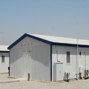 Panelized Prefab Cabins for Construction Site pictures & photos