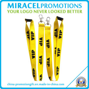 MOQ: 100PCS Screen Print Lanyard for Custom Promotion (MF-106)