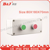 Plastic Waterproof Button Box 80X180X70mm IP68 pictures & photos