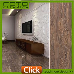 60X90cm Red Brown Polished Finish Glazed Porcelain Floor Tiles (096847MAF)