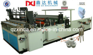 Fully Automatic Toilet Paper Embossing Rewinding Perforated Machines pictures & photos