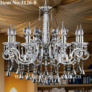 110V-230V Crystal Pendant Chandelier with 8 Lights (HP3126-8)