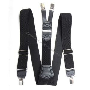Men Classical Fashion Y-Shape Clip-on Suspenders pictures & photos