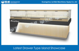 Latest Drawer Type Island Showcase
