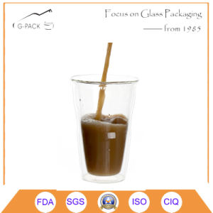 450ml Double Wall Glass Coffee Cup pictures & photos