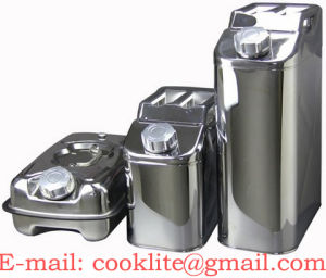Stainless Steel Milk Can / Wine Can / Beer Can / Edible Oil Can pictures & photos