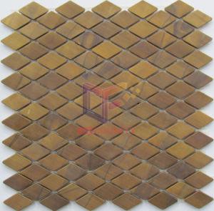 Lantern Shape Copper Made Metal Mosaic Tiles for Art Design (CFM975) pictures & photos