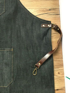 Custom Cheap Made Jean Denim Apron Wholesale pictures & photos