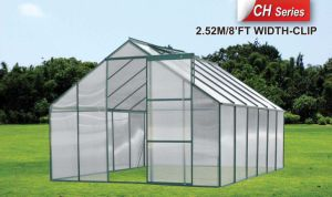 Polycarbonate Sheet, Aluminium Frame Garden Greenhouse pictures & photos