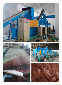 Water Recycled Gravity Separation PCB Circuit Boards Recycling Machines