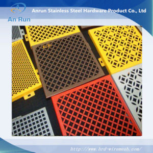 a Variety of Colors of Stainless Steel Punching Plate pictures & photos