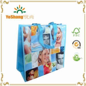 Cute Cartoon Coated or Laminated Non Woven Tote Handled Bag for Kids pictures & photos