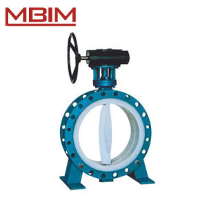 Lined Flange Style Butterfly Valve pictures & photos