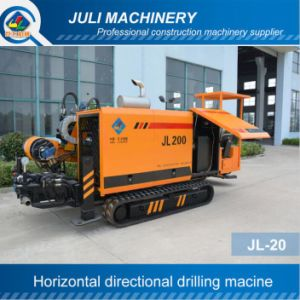 Jl-20 Horizontal Directional Drilling Machine. 20ton HDD Rig. Trenchless Drilling Rig