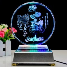 Fiber Laser Engraving Machine High Engraving Speed for Crystal or Glasses pictures & photos