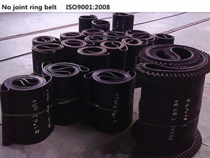 Patented No-Joint Endless Rubber Conveyor Belt pictures & photos