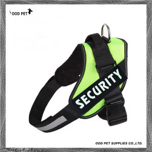 Security Dog Harness with Changeable Velcro Patches Sph9018 pictures & photos