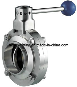 Sanitary Welding/Clamped/Threaded Butterfly Valve