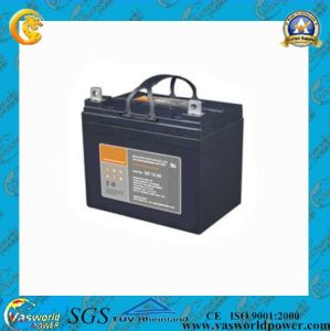 High Quanlity 12V33ah Deep Cycle Battery pictures & photos
