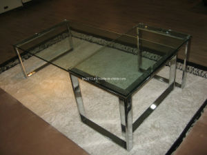 Glass Functional Coffee Table (CJ-082AB) pictures & photos