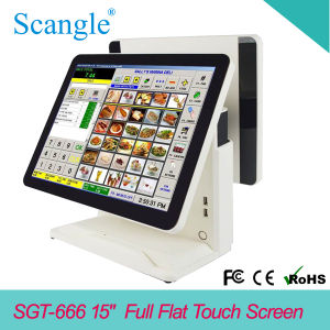 "15"" Touch Screen POS Terminal for Restaurant Management pictures & photos"